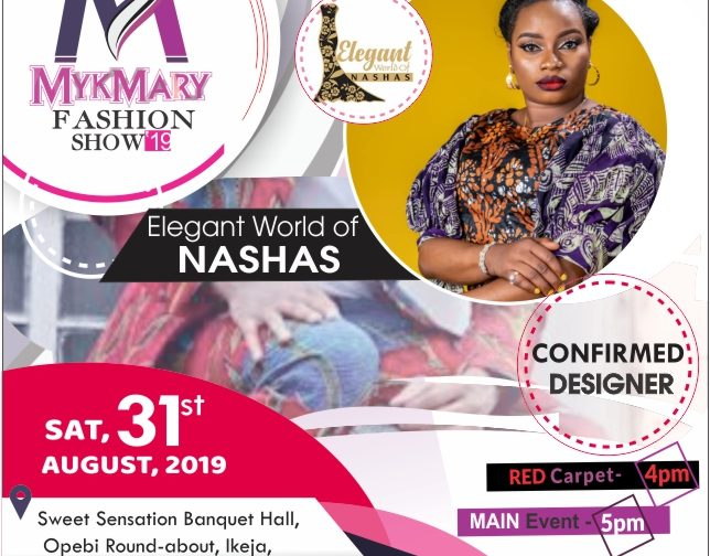Mykmary Fashion Show 2019 set to Spotlight Nigerian Brands