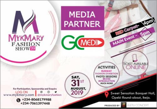 Mykmary Fashion Show 2019 Media Partner GIST CORNER MEDIA
