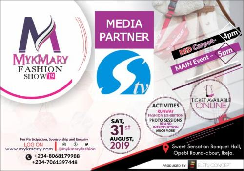 Mykmary Fashion Show 2019 Media Partner STV